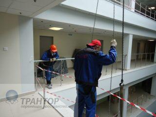 Такелажные работы высокой сложности 52 тонны.
