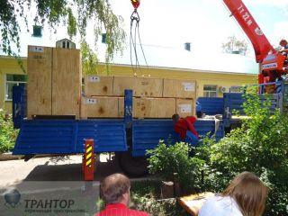 Такелаж медицинского оборудования, такелажные работы, разгрузочные работы 20 тонн.