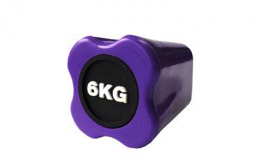 Бодибар Original FitTools 6 кг пурпурный наконечник