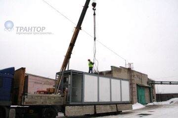 Перевозка негабаритных грузов низкорамным тралом