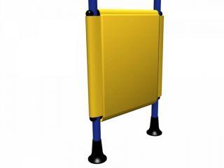 Мягкая накладка на ДСК ДМФ-ЭЛК-14.66.02 (желтый)