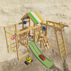 Детский чердак-кровать KiddyLoft Валли (без покрытия)