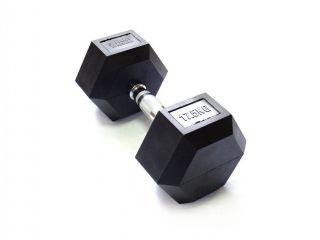 Гантель Original FitTools 17,5 кг гексагональная