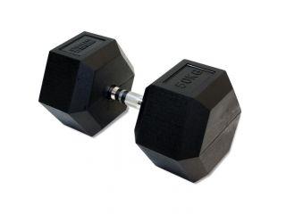 Гантель Original FitTools 50 кг гексагональная