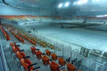 Сборка мебели на Олимпийских объектах г. Сочи для компании Кафедра.