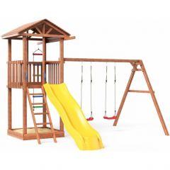 Детская площадка Можга Спортивный городок 1 с качелями (СГ1-Р912)