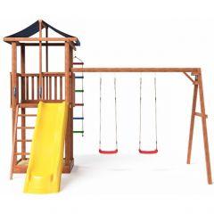 Детская площадка Можга Спортивный городок 1 с качелями крыша тент (СГ1-Р912-Тент)