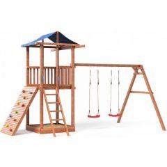 Детская площадка СГ3 тент с качелями Можга СГ3-Р912-тент