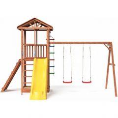 Детская площадка Можга Спортивный городок 5 с качелями (СГ5-Р912)