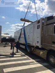 Перевозка контейнеров автотранспортом.
